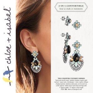 🆕 Trevi Convertible Statement Earring c+i E330